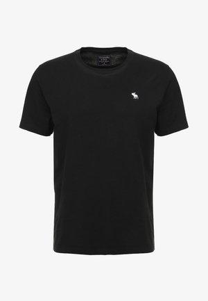 POP ICON CREW - Jednoduché triko - black