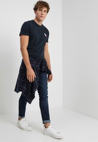 Abercrombie & Fitch - EXPLODED POP ICON  - T-paita - navy - 1