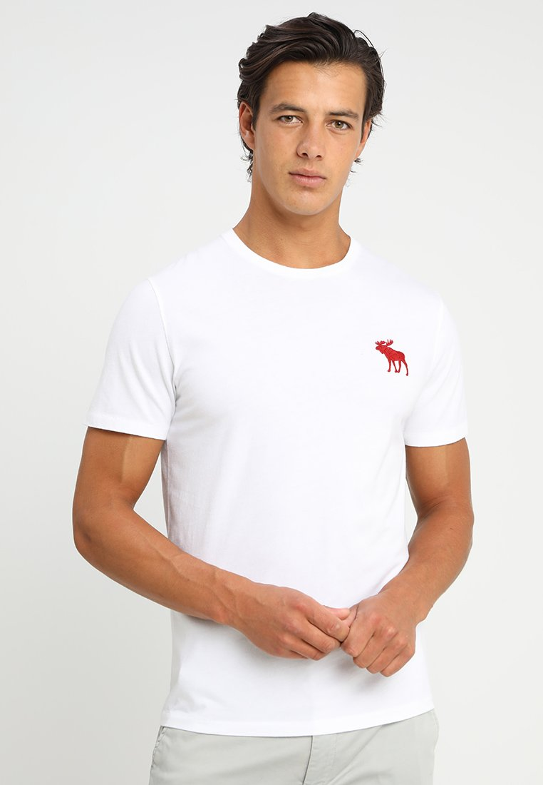 Fitch shirt Tripple Exploided Icon PackT white 3 Imprimé grey Abercrombieamp; Black zMpLGSUVq