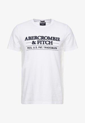 SUM TRAD TECH LOGO NEUTRAL  - Print T-shirt - white