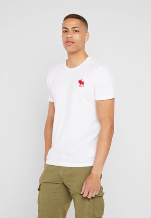 POP ICON CREW - Basic T-shirt - white