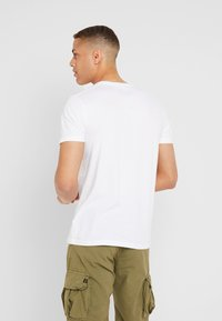 Abercrombie & Fitch - POP ICON CREW - Basic T-shirt - white - 2