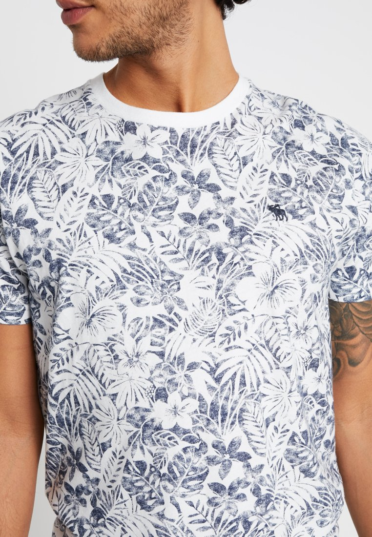 Abercrombie & Fitch New Fringe Convo 3 Pack - T-shirt Print Navy/white/burgundy Black Friday