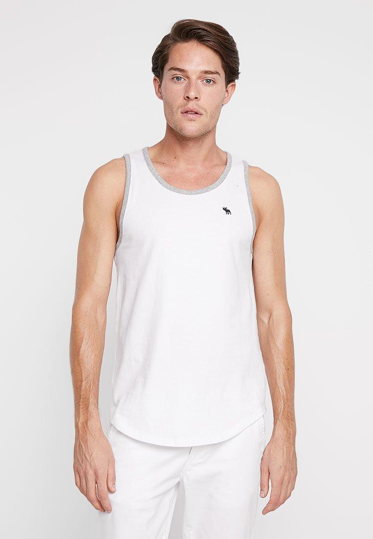 Abercrombie & Fitch - TANK - Débardeur - white