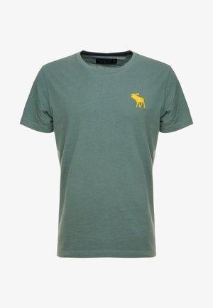 EXPL ICON CREW FRINGE  - Basic T-shirt - green