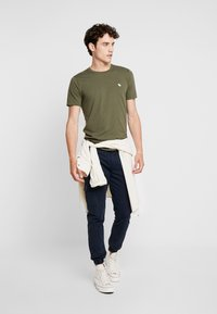 Abercrombie & Fitch - ICON CURVED - Jednoduché triko - green - 1