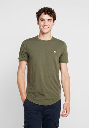ICON CURVED - Basic T-shirt - green