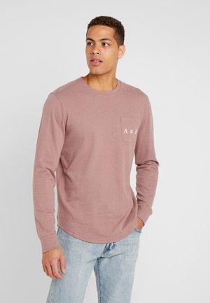 Pitkähihainen paita - rose