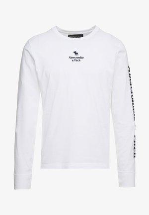 HOLIDAY PLAITED UPDATE  - Camiseta de manga larga - white