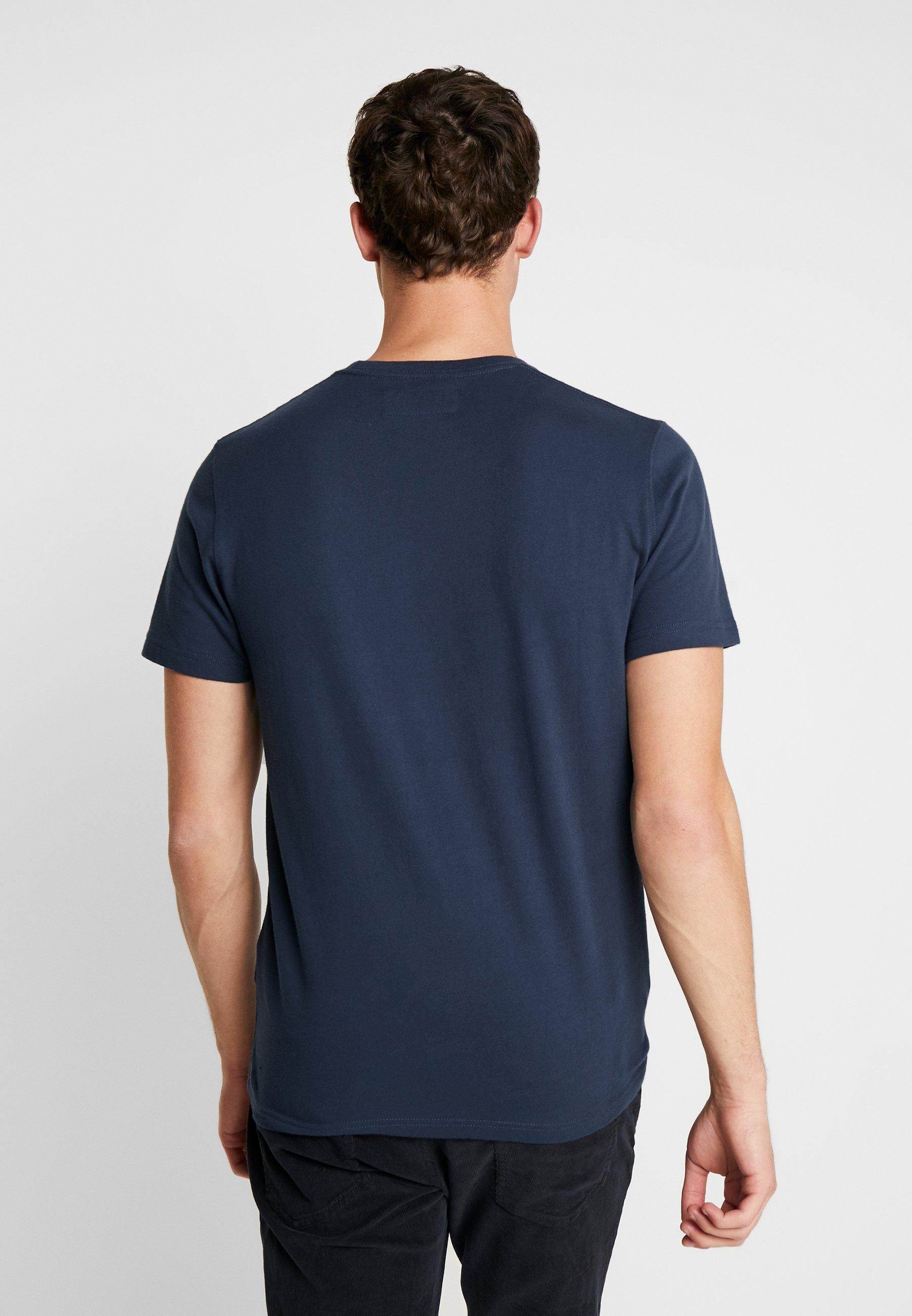 Fitch APPLIQUET HOLIDAY Shirt Abercrombieamp; print navy F1lJuKTc3