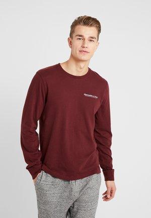 CORE - Pitkähihainen paita - burgundy
