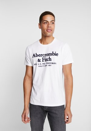 APPLIQUE HERITAGE  - T-shirts med print - white