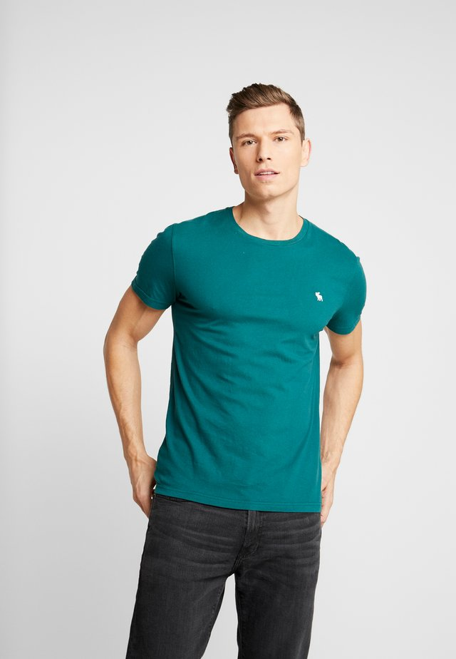 POP ICON CREW FRINGE - T-shirt basic - green