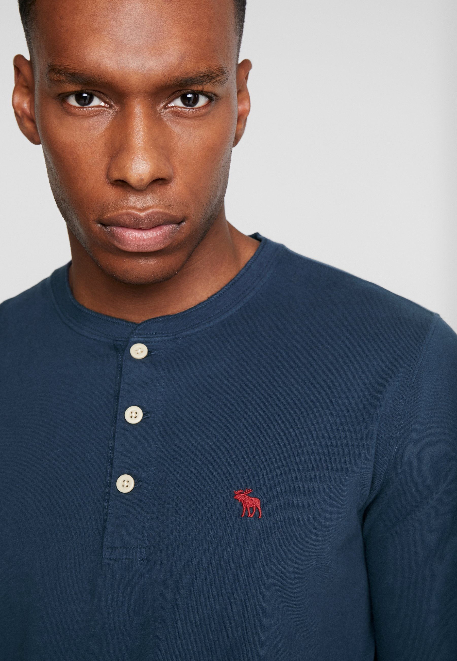 Abercrombie & Fitch T-shirt basic - navy