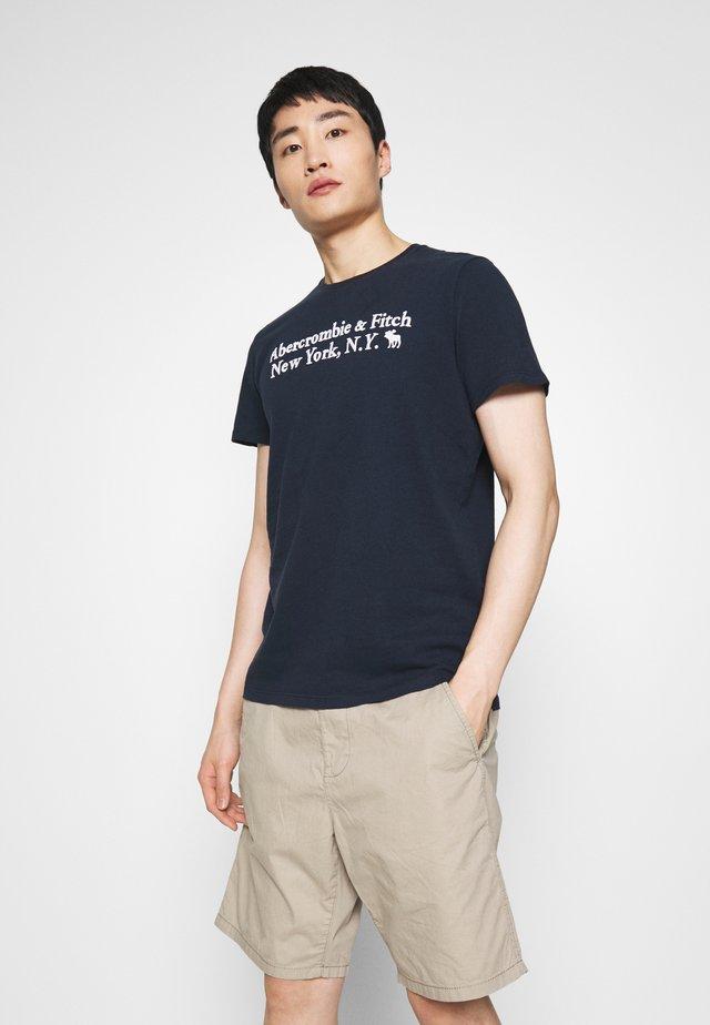 T-shirt imprimé - navy