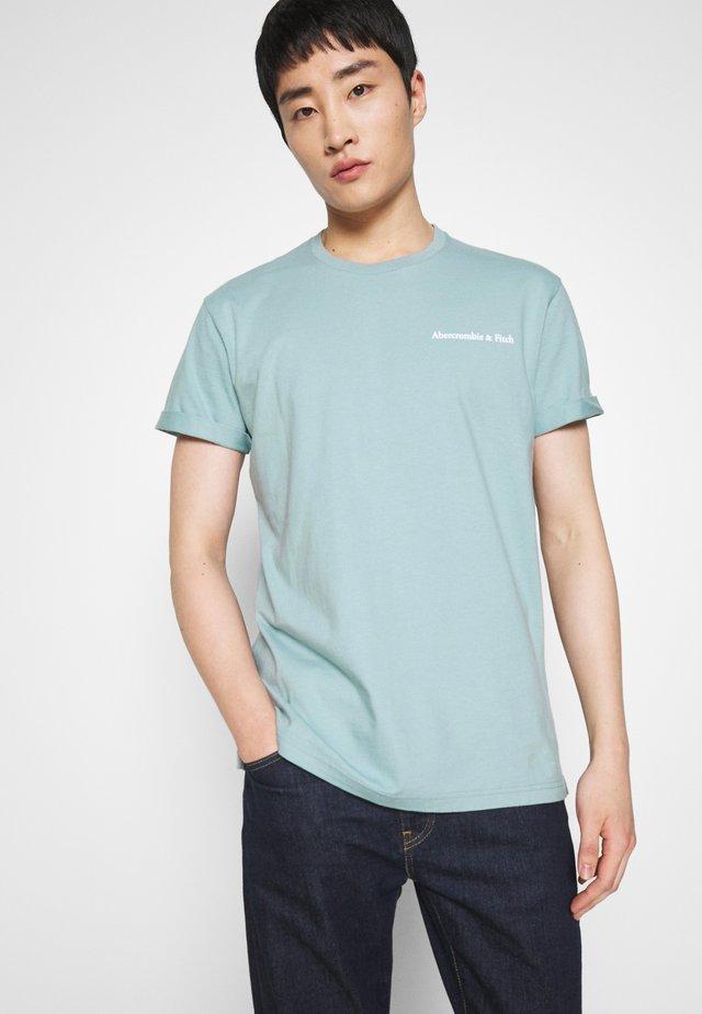HEAVYWEIGHT - Print T-shirt - blue