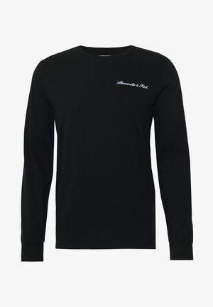 TREND LOGO  - Top sdlouhým rukávem - black