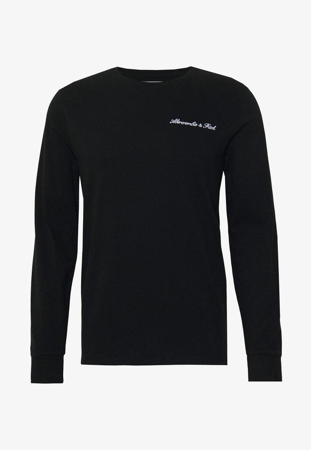TREND LOGO  - Bluzka z długim rękawem - black