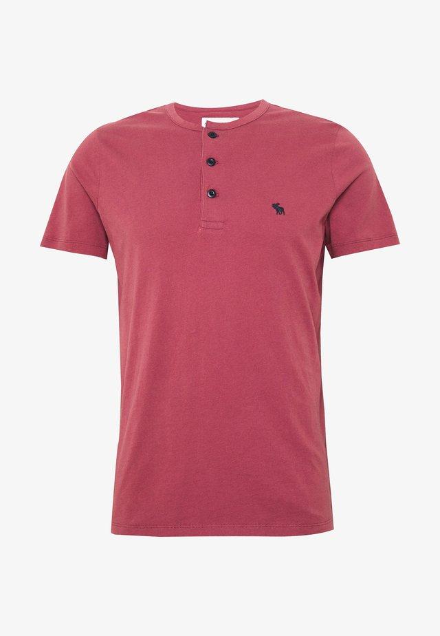 ICON - T-Shirt basic - burgundy