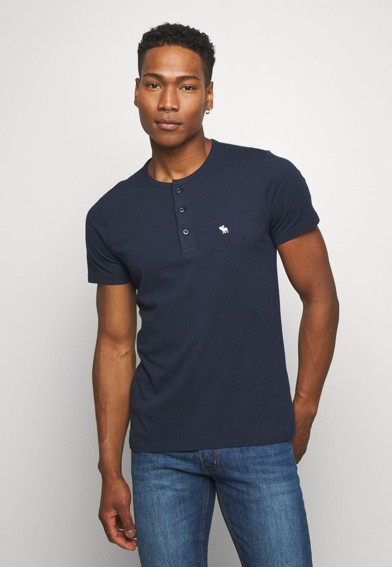 Abercrombie & Fitch - ICON - Basic T-shirt - navy
