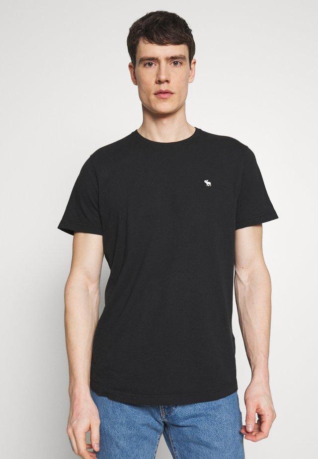 CURVED HEM ICON - T-shirt basique - black