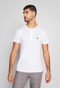 Abercrombie & Fitch - MULTIPACK - Basic T-shirt - navy/grey/white - 1
