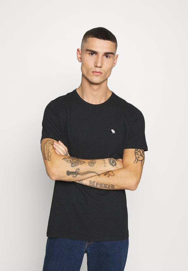 NEUTRAL CREW 5 PACK - Basic T-shirt - white/rose/blue/beige/black