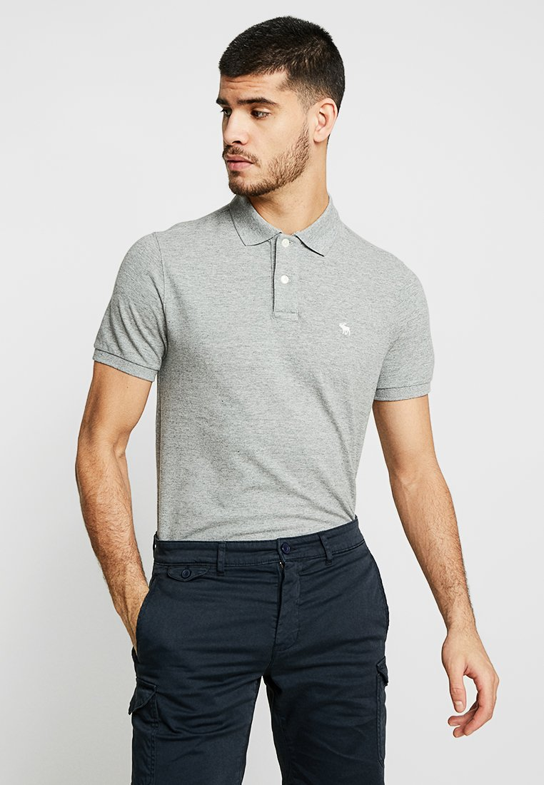 Abercrombie & Fitch - 3 PACK - Polo - white/grey/black