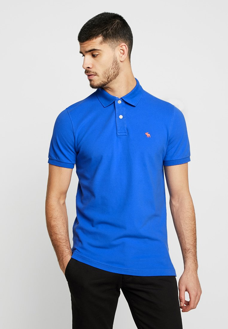 Abercrombie & Fitch - CORE - Polo shirt - med blue