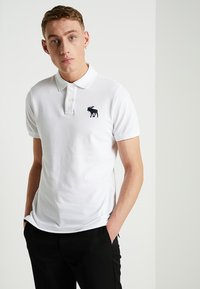 Abercrombie & Fitch - EXPLODED - Piké - white - 0