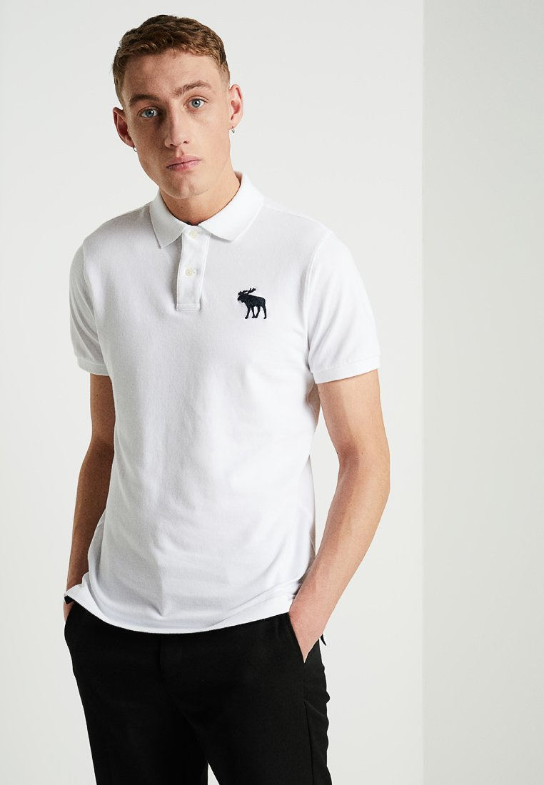 Abercrombie & Fitch - EXPLODED - Piké - white