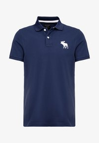 Abercrombie & Fitch - EXPLODED - Polo shirt - navy - 4