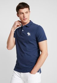 Abercrombie & Fitch - EXPLODED - Polo shirt - navy - 0