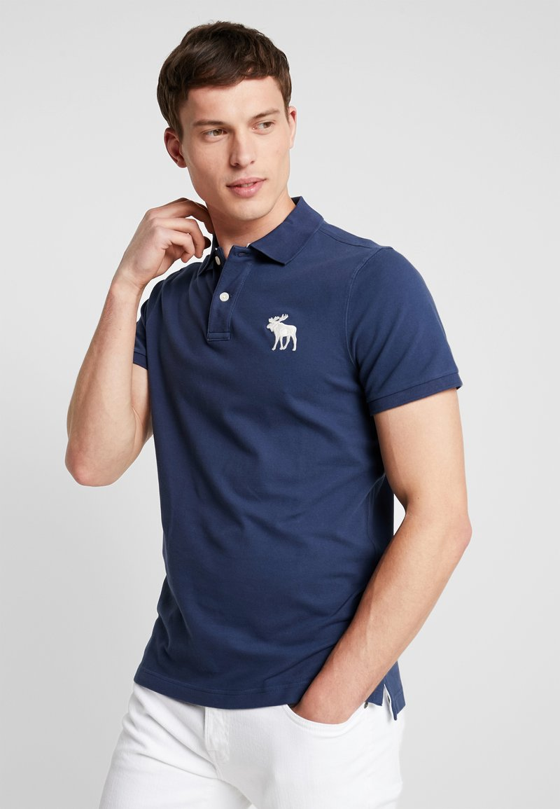Abercrombie & Fitch - EXPLODED - Polo shirt - navy