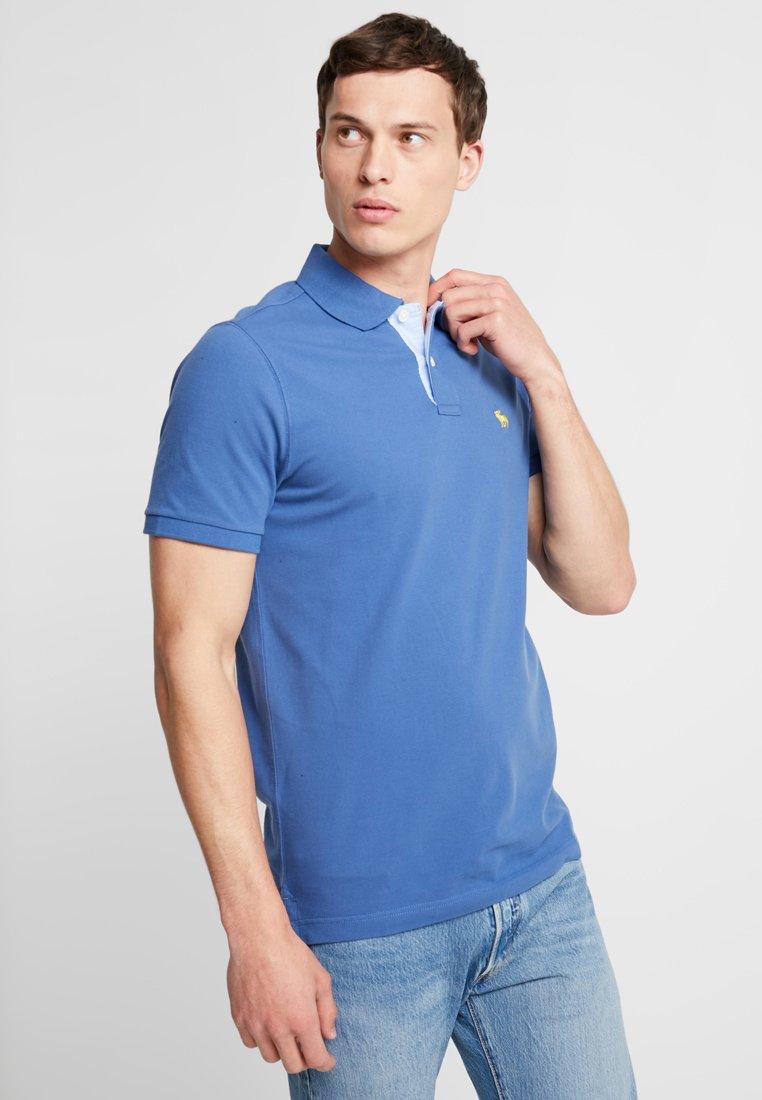 Abercrombie & Fitch - COLOUR CORE - Poloshirt - blue
