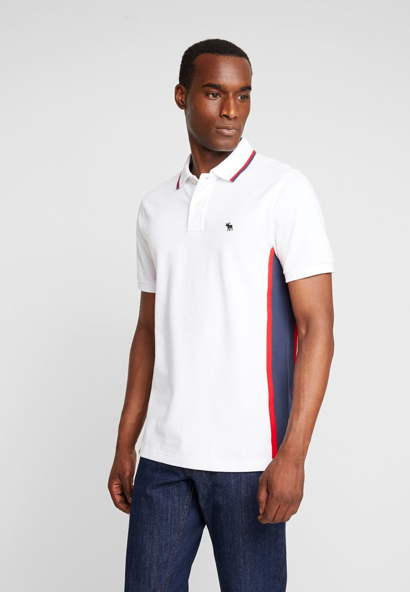 Abercrombie & Fitch - MODERN - Polo - white