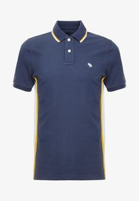 Abercrombie & Fitch - MODERN - Piké - navy/yellow - 3