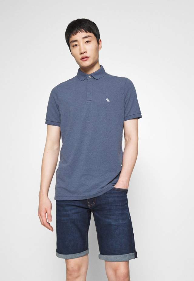 Polo shirt - mid blue siro