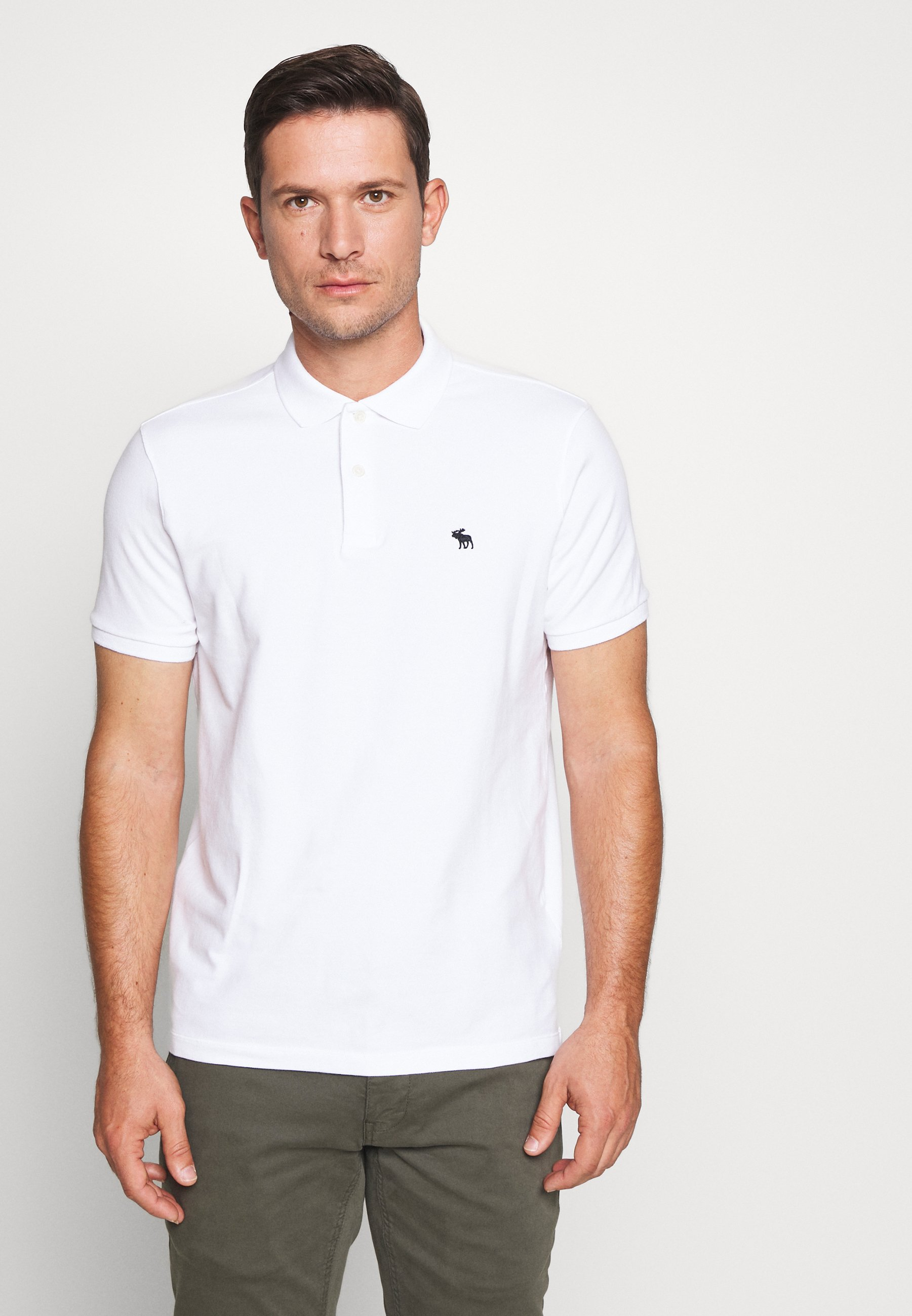 Abercrombie & Fitch Multipack 3 Pack - Poloshirt White/ Sepia Rose/ Blue Heather