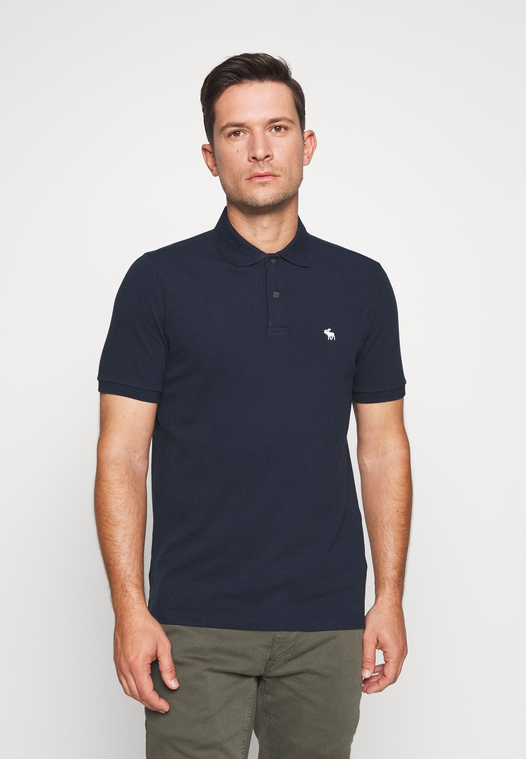 Abercrombie & Fitch MULTIPACK 3 PACK - Koszulka polo - navy/grey/white