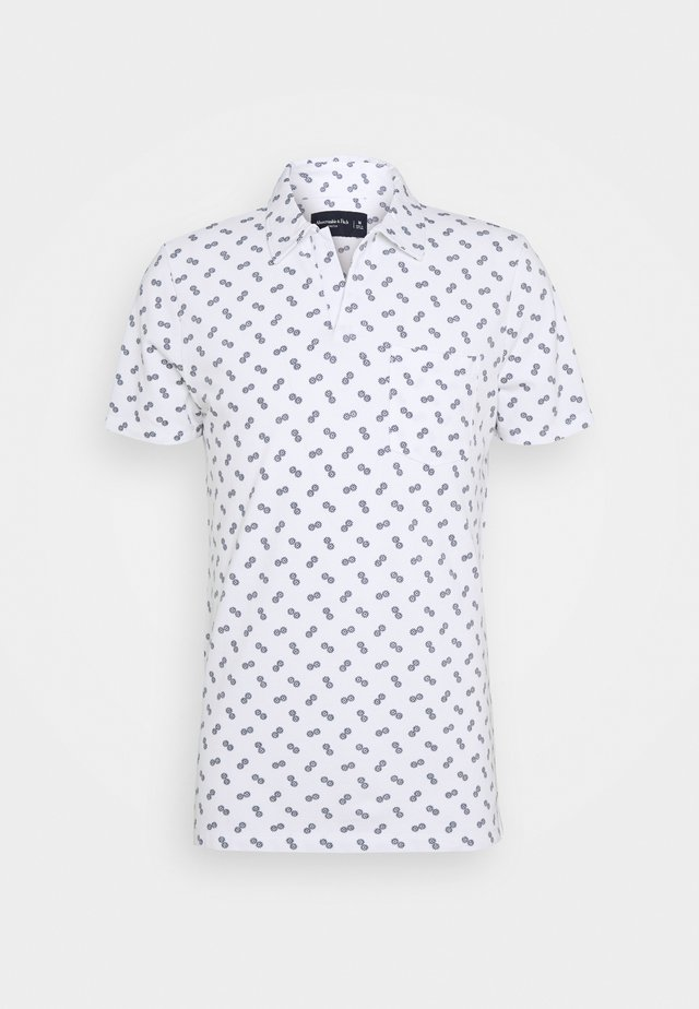 JOHNNY COLLAR  - Polo - white