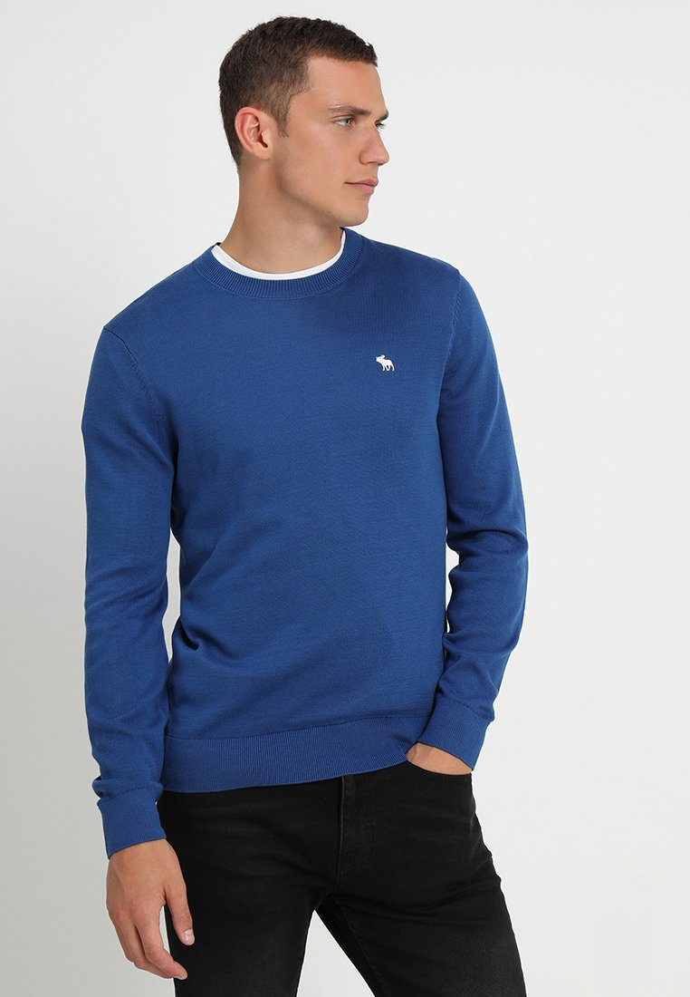 Abercrombie & Fitch - ICON CREW - Pullover - blue