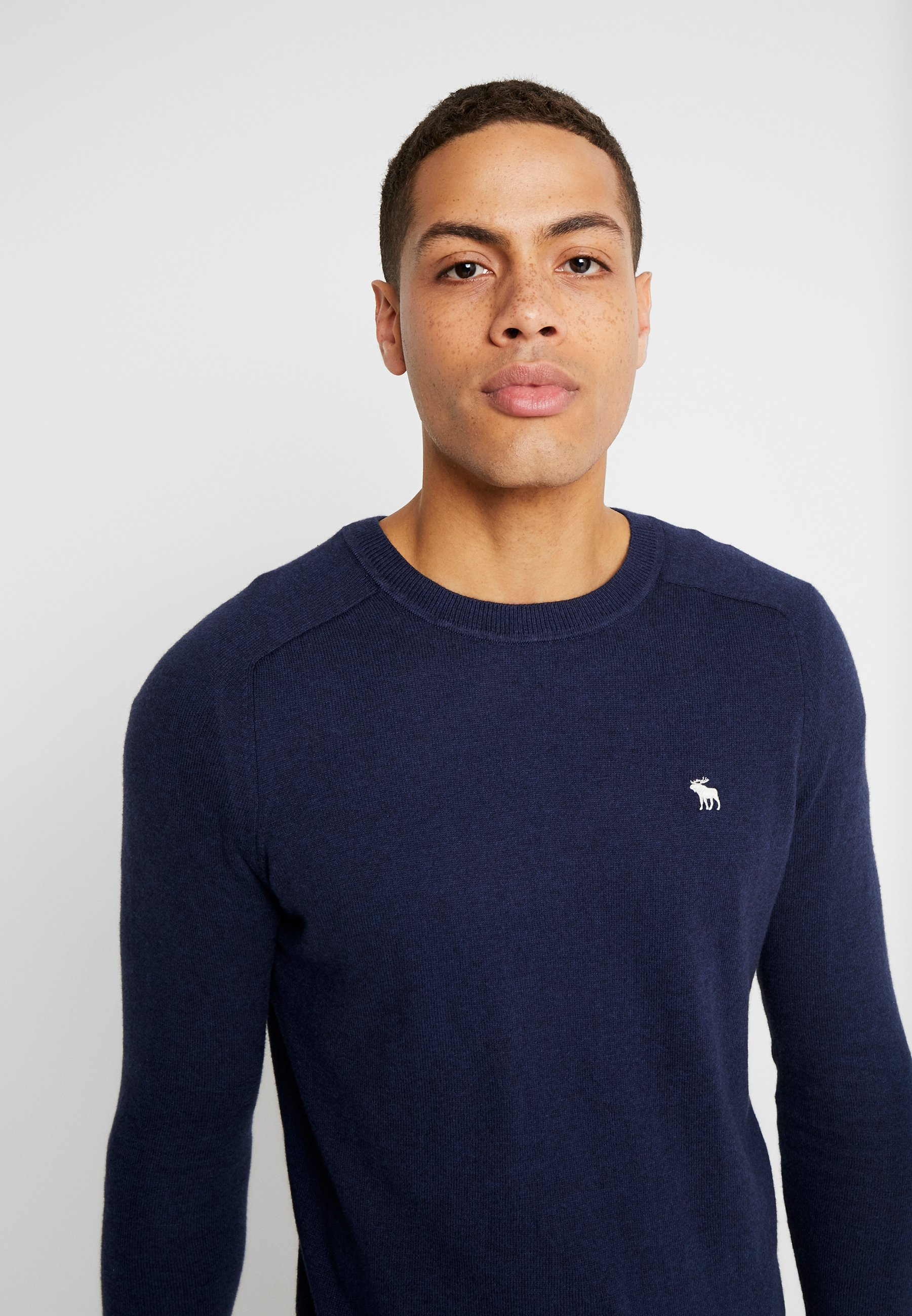Abercrombie & Fitch Core Icon Crew - Strickpullover Navy Black Friday