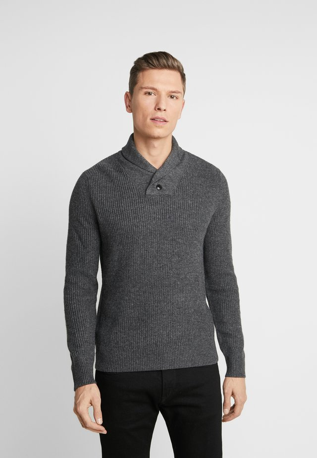 ICON POPOVER SHAWL  - Jumper - light grey