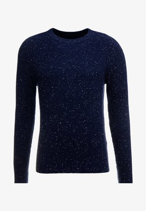 TEXTURED DONEGAL CREW - Neule - navy