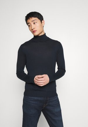 SPRING TURTLENECK - Jumper - navy