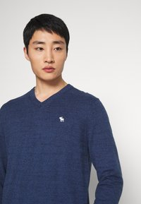 Abercrombie & Fitch - CORE ICON - Pullover - blue - 3