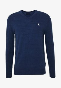 Abercrombie & Fitch - CORE ICON - Pullover - blue - 4