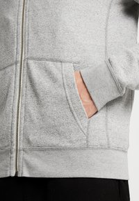 Abercrombie & Fitch - ICON - Hoodie met rits - light grey - 5