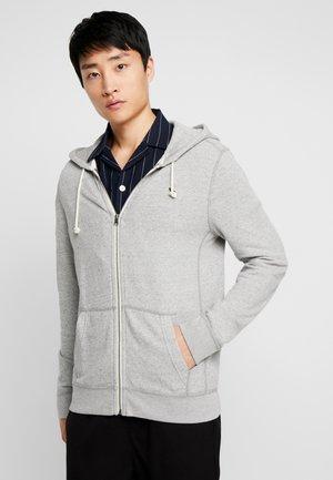 ICON - Zip-up hoodie - light grey
